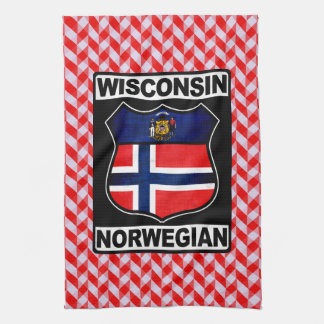 Wisconsin Norwegian American Tea Towels