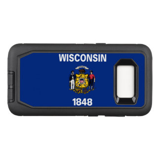 Wisconsin OtterBox Defender Samsung Galaxy S8 Case