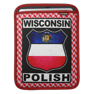 Wisconsin Polish American iPad Case