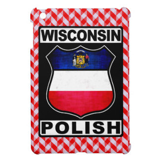 Wisconsin Polish American iPad Cover