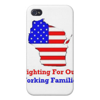 Wisconsin Protests Shirts iPhone 4 Case