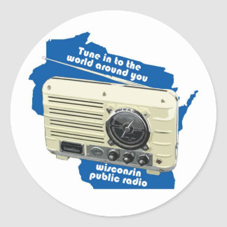 Wisconsin Public Radio Sticker