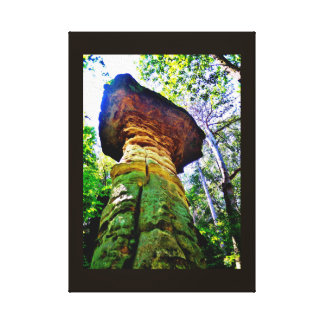 Wisconsin Rock Formation Canvas Print