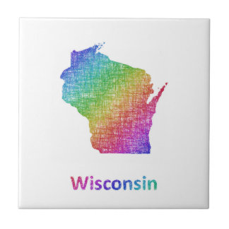 Wisconsin Small Square Tile