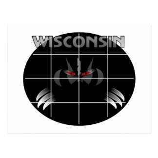 Wisconsin State Badger Design Post Cards