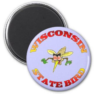 Wisconsin State Bird Magnet