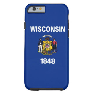 Wisconsin State Flag Tough iPhone 6 Case