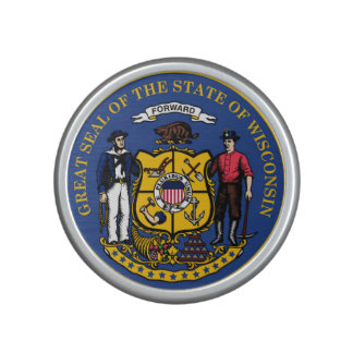 Wisconsin state flag seal united america country r speaker