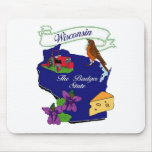 Wisconsin State Mousemats