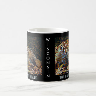 Wisconsin The Badger State Coffee Mug