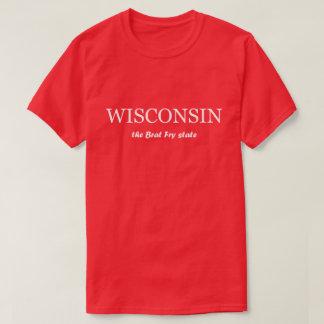 Wisconsin - the Brat Fry State Tshirt