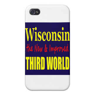 Wisconsin the New & Improved THIRD WORLD iPhone 4/4S Cover