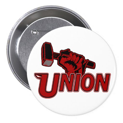 Wisconsin Union Button