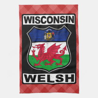 Wisconsin Welsh American Tea Towels