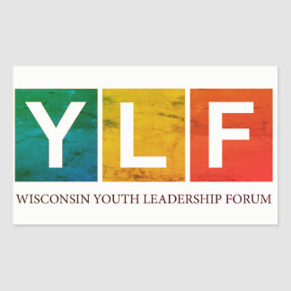 Wisconsin YLF Rectangular Sticker