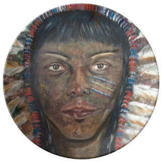 """Wisdom"" Decorative Plate Porcelain Plate"