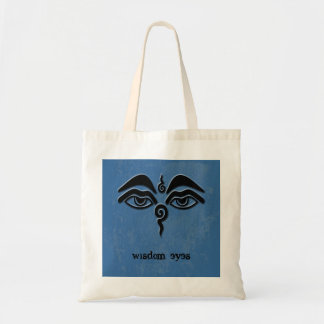 wisdom eyes tote bag