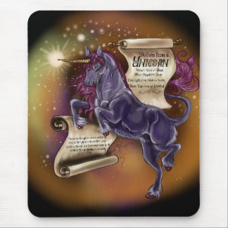 Wisdom from a Unicorn, mousepad