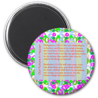 WISDOM QUOTE BIBLE xmas,christ,holidays,festival, 6 Cm Round Magnet