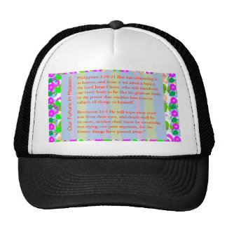 WISDOM QUOTE BIBLE xmas,christ,holidays,festival, Trucker Hat