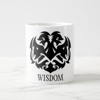 Wisdom Symbol Large Coffee Mug