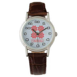 Wisdom Women's Classic Brown Leather Watch