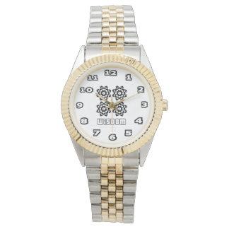 Wisdom Women's Two-Tone Bracelet Watch