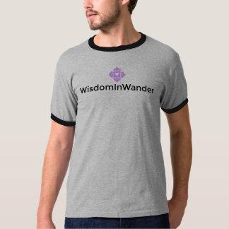 WisdomInWander Men's Ringer T-Shirt