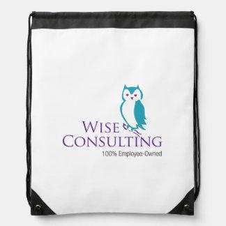Wise Drawstring Bag