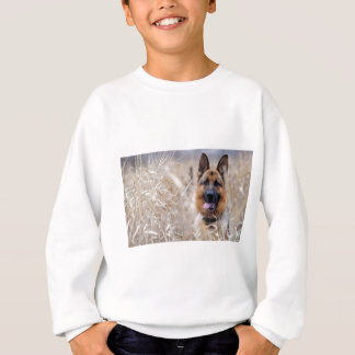 Wise German Shepherd Puppy Sweatshirt