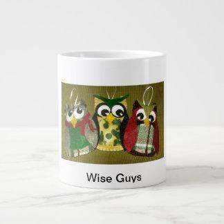 Wise Guys Owl Ornaments Jumbo Coffee Mug! Jumbo Mug