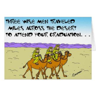 Wise Men At Graduation Card