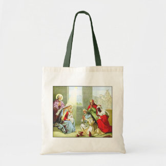 Wise Men At The Nativity Tote Bag