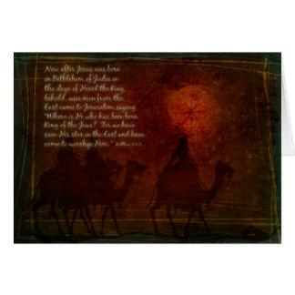 Wise Men Card