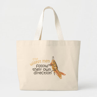 Wise Men Follow Their Own Direction Tote Bag