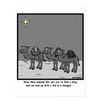 Wise Men Postcard