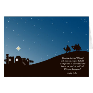 Wise Men Still Seek Him Christian Christmas Card