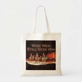 Wise Men Still Seek Him Christmas Tote Bags
