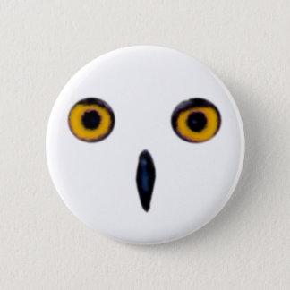 Wise Old Owl Eyes 6 Cm Round Badge