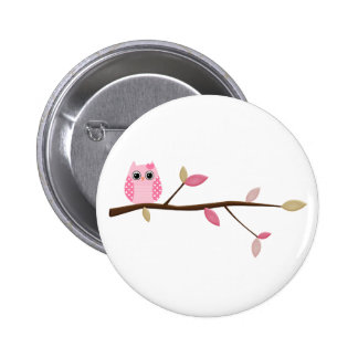 Wise Owl Pinback Buttons
