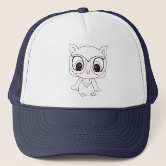 Wise Owl Baseball Hat