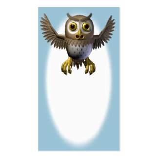 Wise Owl Pack Of Standard Business Cards