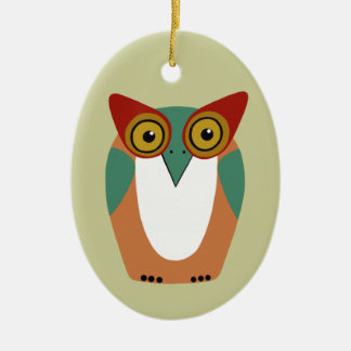 Wise Owl Christmas Ornament