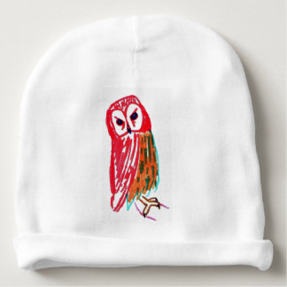 Wise Owl Custom Cotton Beanie for Baby Baby Beanie