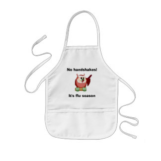 Wise Owl in the Kitchen Kids' Apron