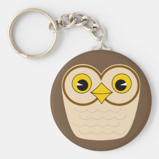 Wise owl key chain