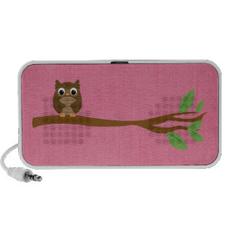 Wise Owl Mp3 Speakers