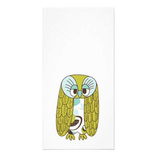 Wise Owl Picture Card