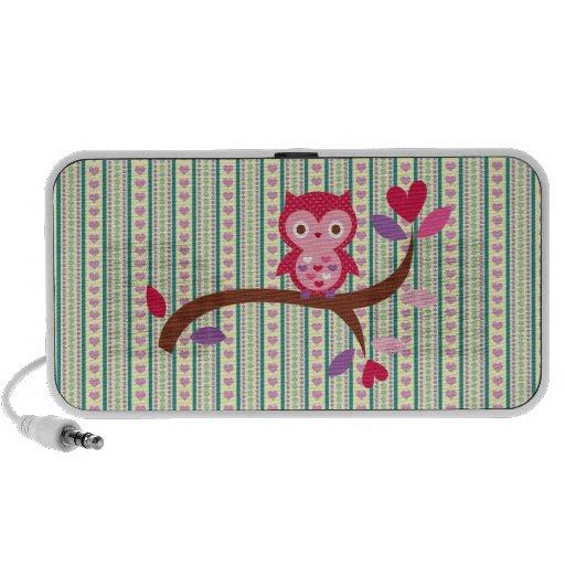 Wise Owl Notebook Speaker