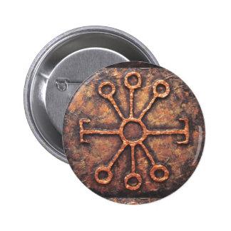 Wise Rune 6 Cm Round Badge